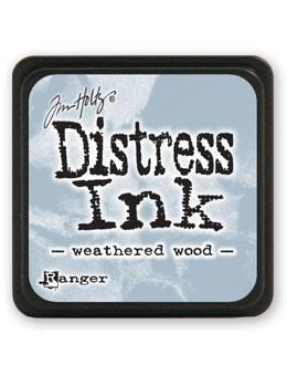 Ranger Tim Holtz Mini Distress® Ink Pad Weathered Wood - Crafty Meraki