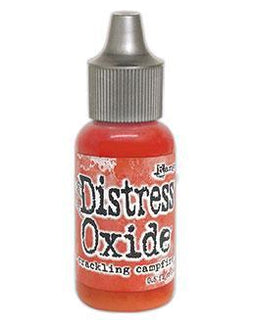 Ranger Tim Holtz Distress® Oxide® Ink Pad Re-Inker Crackling Campfire 0.5oz