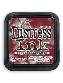 Ranger Tim Holtz Distress® Ink Pad Aged Mahogany - Crafty Meraki