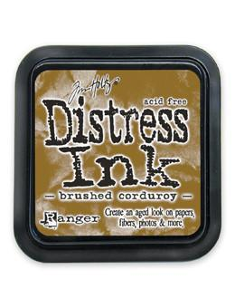 Ranger Tim Holtz Distress® Ink Pad Brushed Corduroy - Crafty Meraki