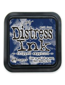 Ranger Tim Holtz Distress® Ink Pad Chipped Sapphire - Crafty Meraki