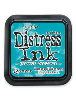 Ranger Tim Holtz Distress® Ink Pad Peacock Feathers - Crafty Meraki