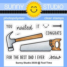 Sunny Studio Stamps Tool Time Stamps - Crafty Meraki