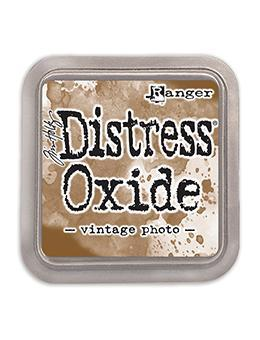 Ranger Tim Holtz Distress® Oxide® Ink Pad Vintage Photo - Crafty Meraki