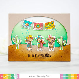 Waffle Flower Hola Mexico Stamp Set - Crafty Meraki