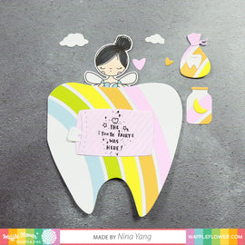 Waffle Flower Tooth Fairy Shapes Die - Crafty Meraki