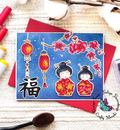 Crafty Meraki Year of the Ox coordinating dies - Crafty Meraki