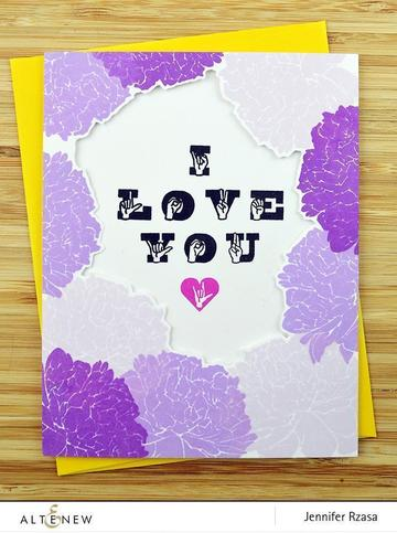 Altenew ASL Love Stamp Set - Crafty Meraki