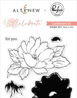 Altnew Celebrate Us Stamp Set - Crafty Meraki