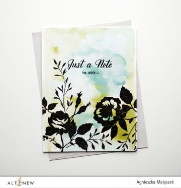 Altenew Dainty Bouquet Stamp Set - Crafty Meraki
