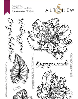 Altenew Engagement Wishes Stamp Set - Crafty Meraki