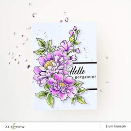 Altenew  Flower Garden Stamp Set - Crafty Meraki