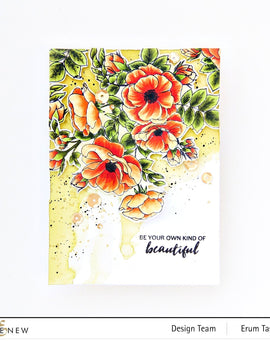 Altenew Paint-A-Flower: Anemone Stamp Set - Crafty Meraki