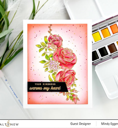 Altenew Paint-A-Flower: Rose - Crafty Meraki