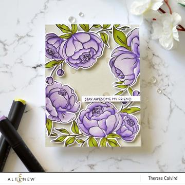 Altenew Precious Peony Stamp Set - Crafty Meraki