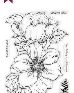 Altenew Statement Flowers Stamp Set - Crafty Meraki