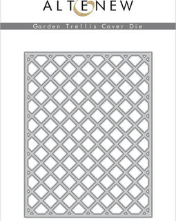 Altenew Garden Trellis Cover Die - Crafty Meraki