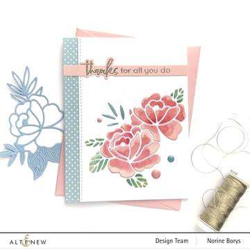 Altenew Spring Roses Die Set - Crafty Meraki