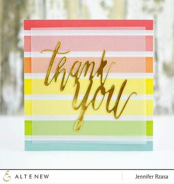 Altenew Thank You Die - Crafty Meraki
