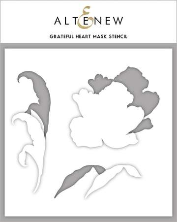 Altenew Grateful Heart Mask Stencil - Crafty Meraki