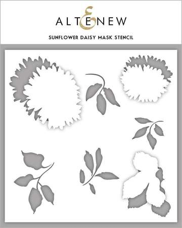 Altenew Sunflower Daisy Mask Stencil - Crafty Meraki