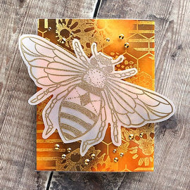 Colorado Craft Company Big & Bold~Honey Bee Stamp Set - Crafty Meraki