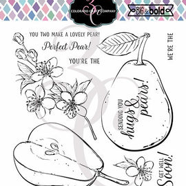 Colorado Craft Company Big & Bold Hugs & Pears Stamps Set - Crafty Meraki