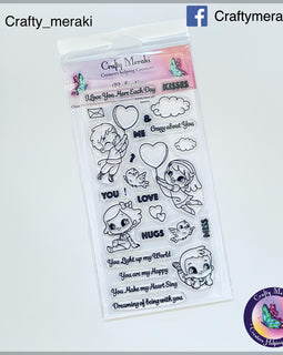 Crafty Meraki Valentine stamp set - Crafty Meraki