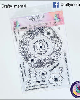 Crafty Meraki Sweet Friendship stamp set - Crafty Meraki