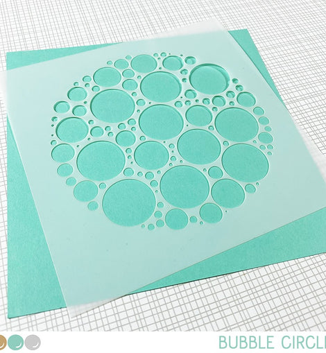Create A Smile Bubble Circle - Crafty Meraki