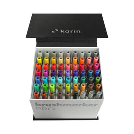 Karin Brushmarker PRO Mega Box 60pc plus 3 Blenders - Crafty Meraki