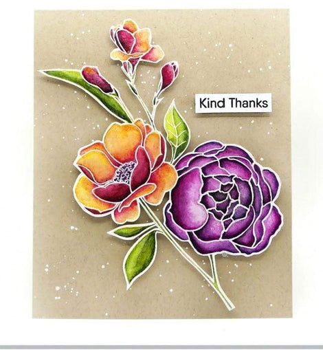 My Favorite Things Fresh Cut Flowers Stamp Set - Crafty Meraki
