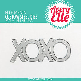 Avery Elle Die: XOXO Elle-ments - Crafty Meraki