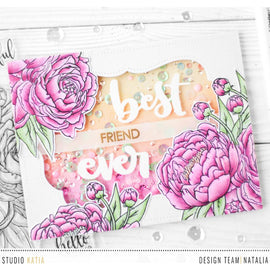 Studio Katia Blooming Bunch Stamp set - Crafty Meraki