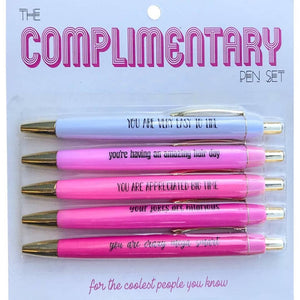 Expressive Pen Sets - Complimentary