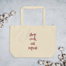 Load image into Gallery viewer, Organic tote bag - repeat shopper