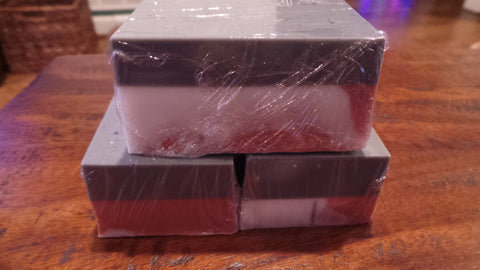 Charcoal and Rose Clay Spa Soap Bar