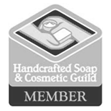 Member of Handcrafted Soap and Cosmetic Guild