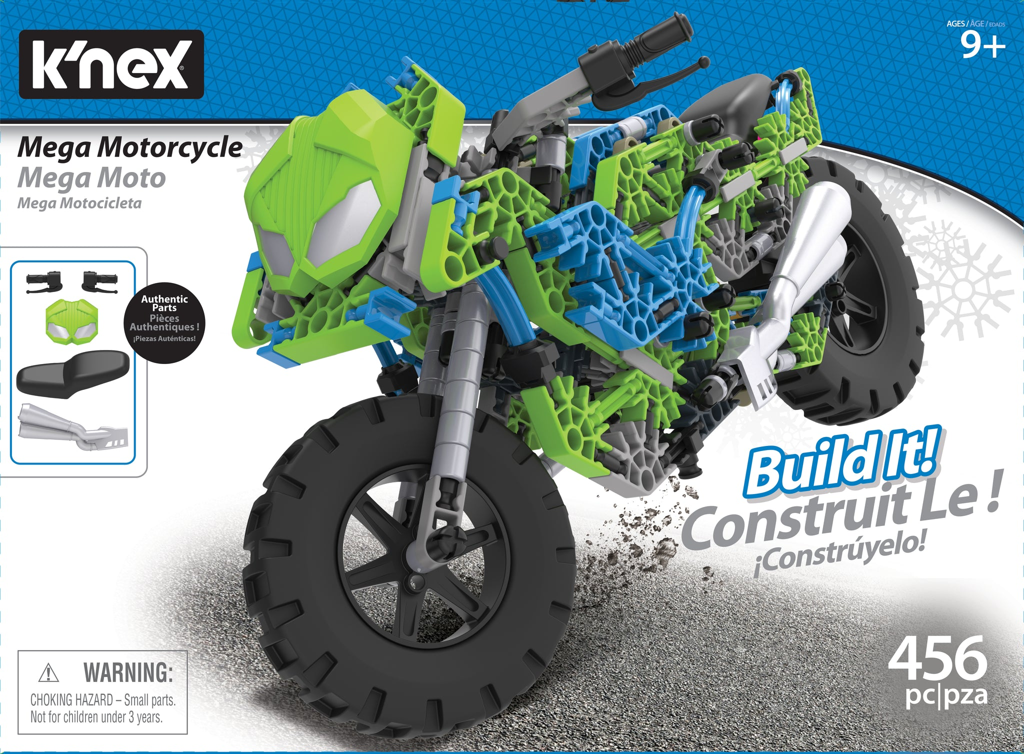 Mega Motorcycle Building Set