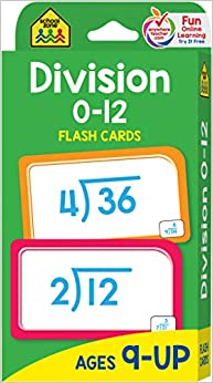 Tarjetas Flash de Division 0-12