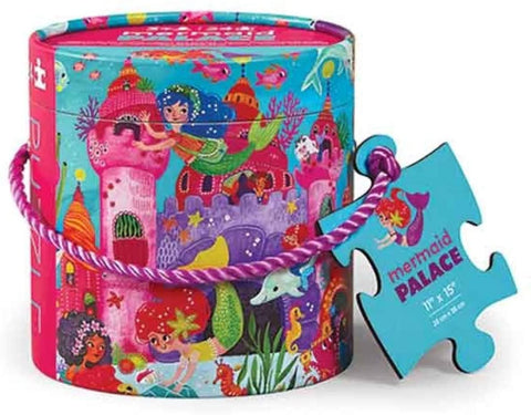 Mini Canister Mermaid Palace 24pc