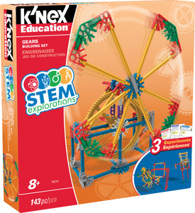 STEM EXPLORATIONS: GEARS BUILDING SET