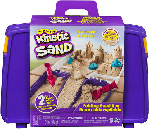 Kinetic Sand caja de arena plegable
