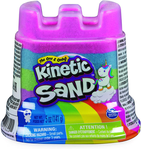 Kinetic Sand castillo arcoiris individual