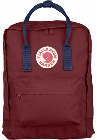 Mochila Kanken Ox Red/Royal Blue