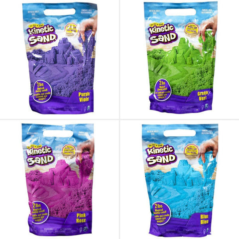 Kinetic Sand bolsa 900grs. arena de colores