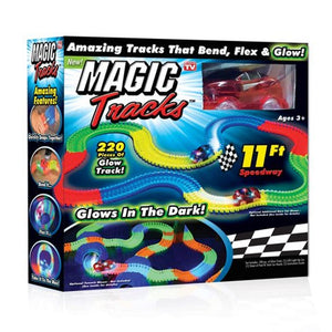 Magic Tracks Kit Auto Rojo
