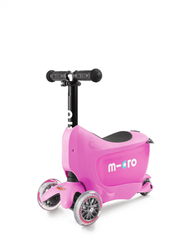 Scooter Mini2Go Deluxe Rosado