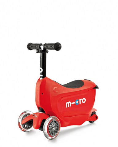 Scooter Mini2Go Deluxe Rojo