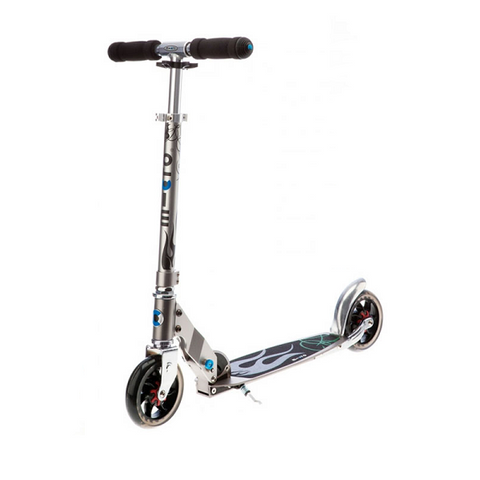Scooter Speed Plus Plateado